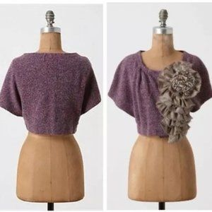 Anthropologie Moth sweater shurg size S/M